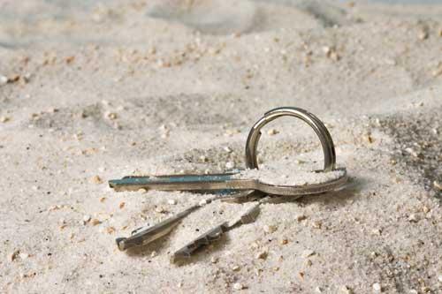 Taking Keys in the Water